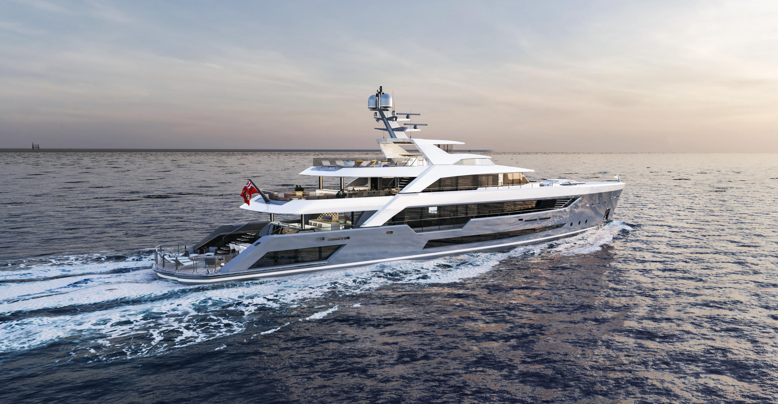 Yate Al Waab II de 55 metros de eslora de Alia Yachts