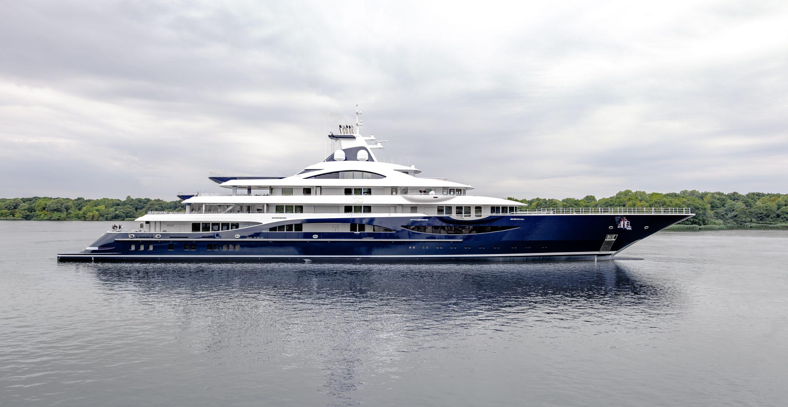 Yate TIS de de Lurssen Yachts